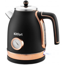 Чайник Kitfort КТ-6102-2 черный/золото