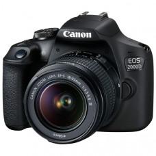 Фотоаппарат зеркальный Canon EOS 2000D EF-S 18-55 III Kit