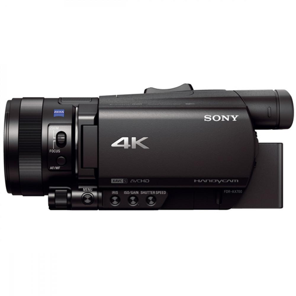 Видеокамера цифровая 4K Sony FDR-AX700