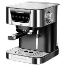 Кофеварка рожковая REDMOND RCM-M1513, серебристый/черный